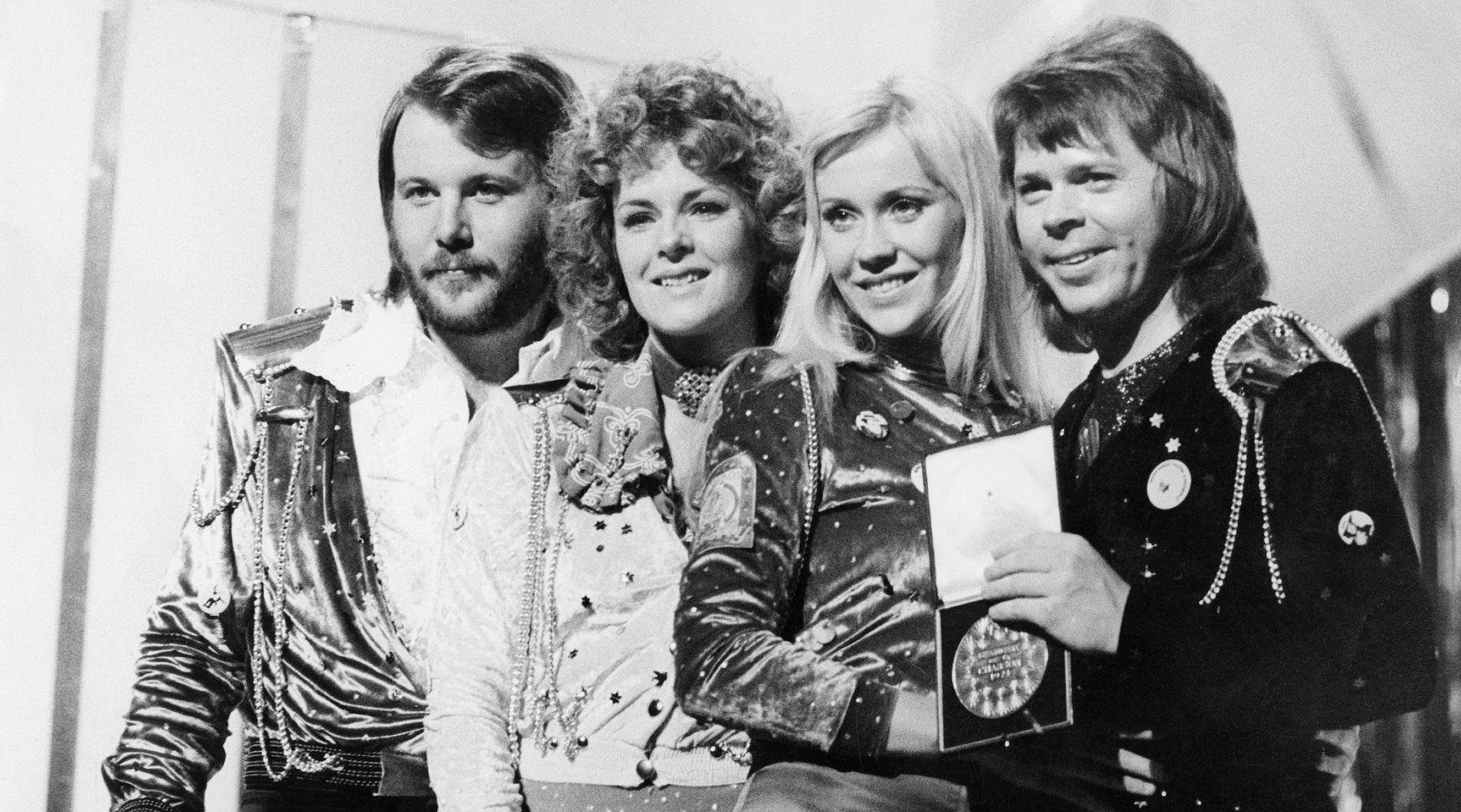 ABBA at Eurovision 1974 1800 x 1000